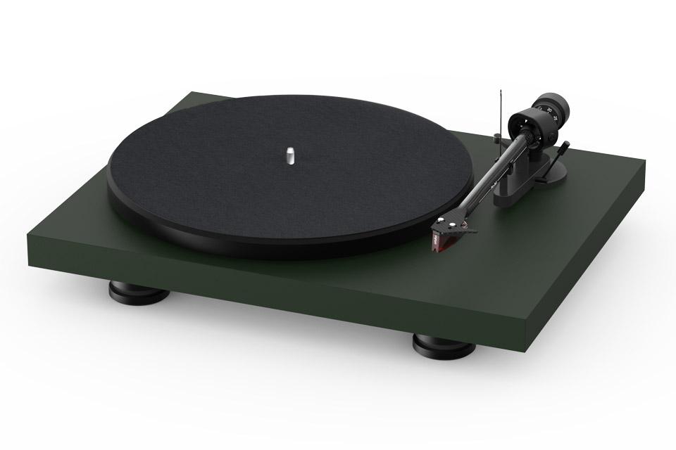 Pro-Ject Debut Carbon EVO recordplayer, satin green