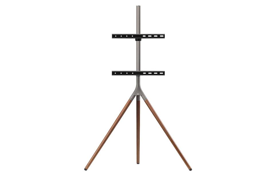 One For All WM 7471 Tripod TV floorstand - Walnut