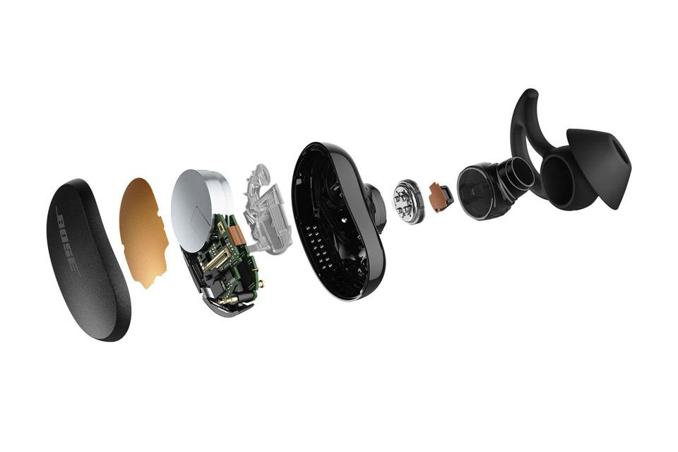 Bose QuietComfort Earbuds, Triple Black