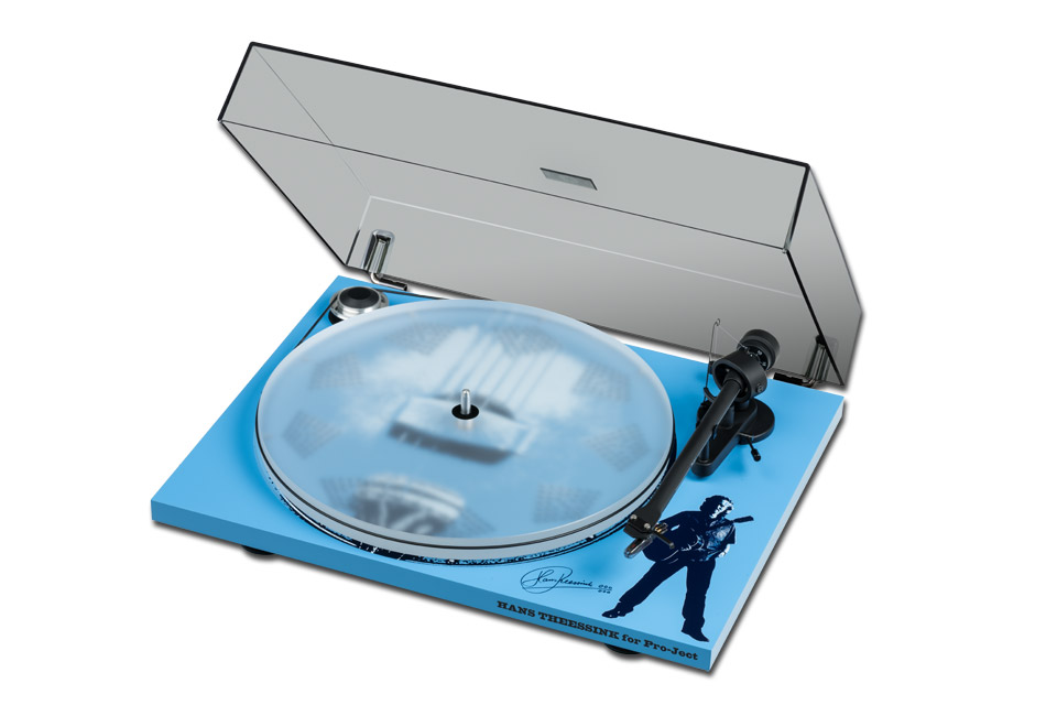 Pro-Ject Essential III Hans Theessink, dustcover