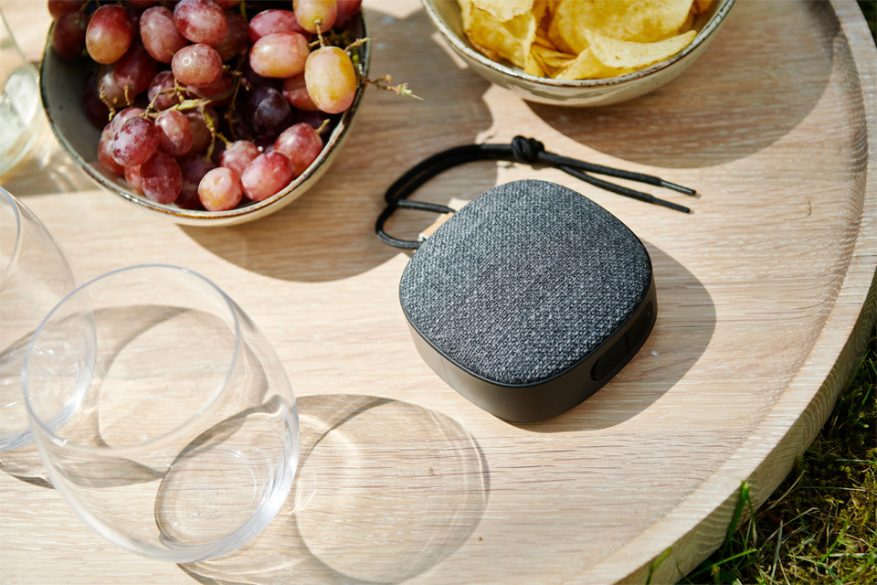 SACKit WOOFit GO XQ bluetooth speaker, lifestyle