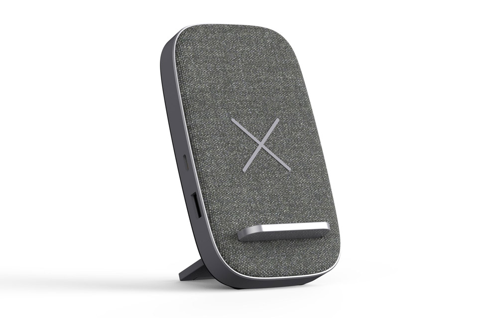 SACKit CHARGEit stand, grey
