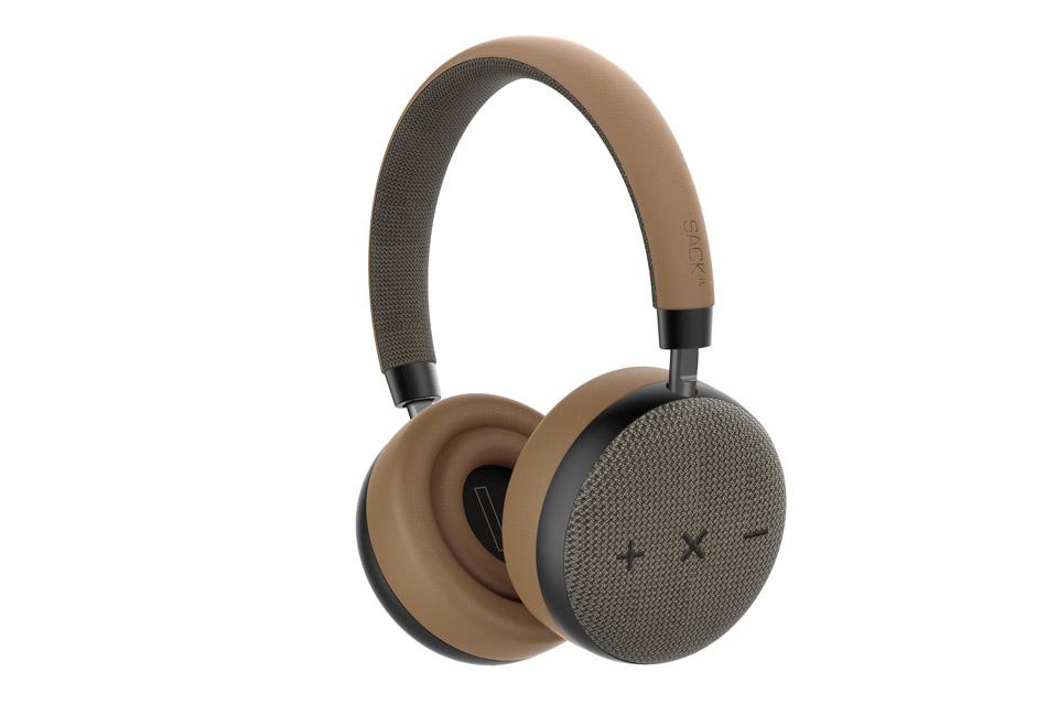 SACKit TOUCHit headphones, golden