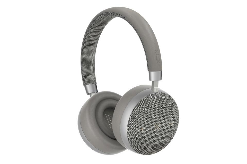 SACKit TOUCHit headphones, silver