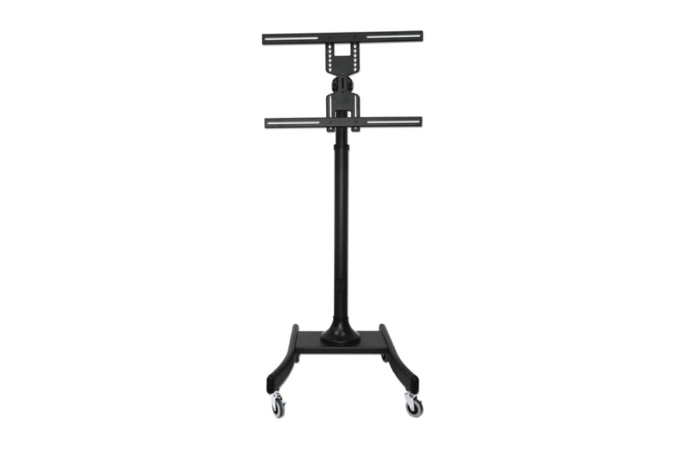 Lindy single display lite trolley mount, max 35 kg - Without shelf