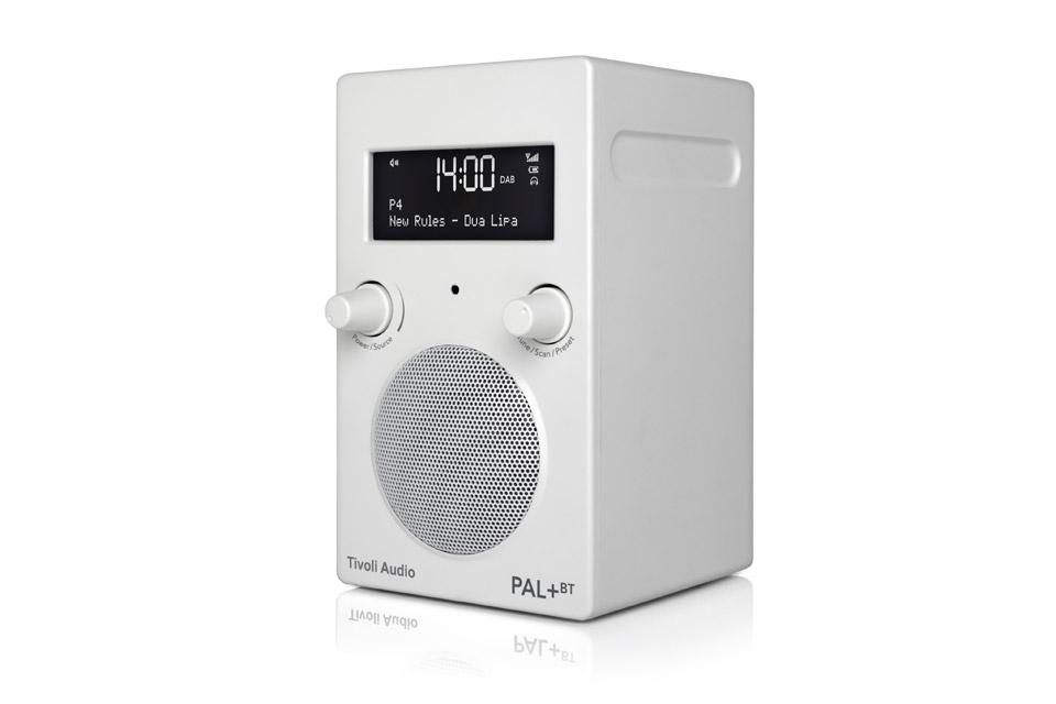 Tivoli Audio PAL+ BT, white 2.gen
