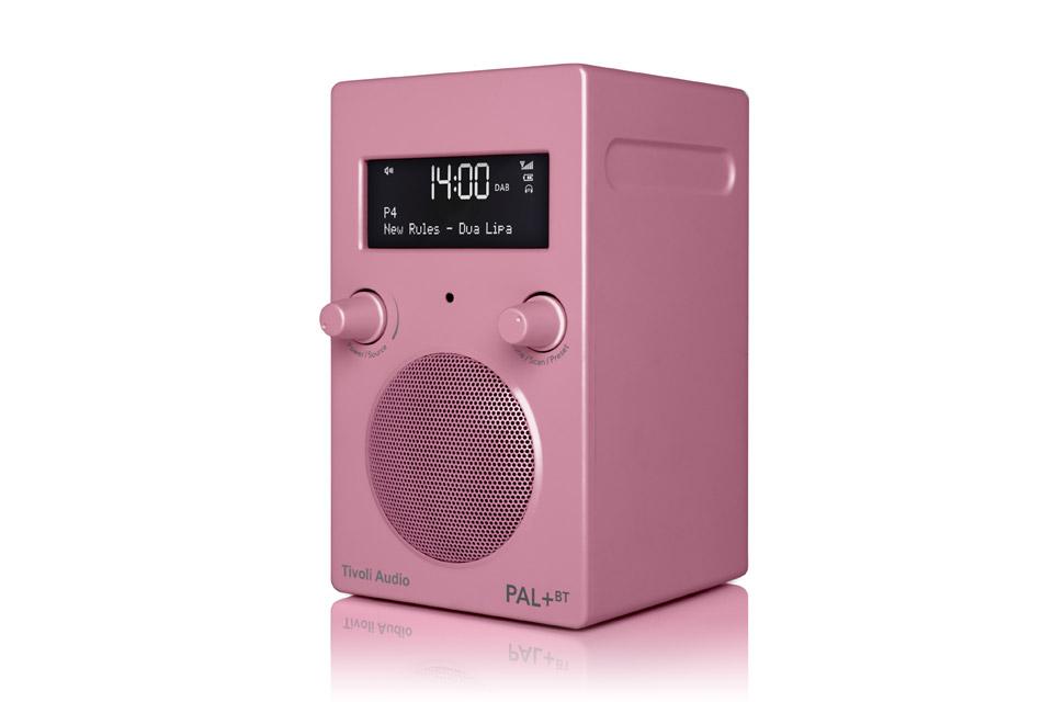 Tivoli Audio PAL+ BT, pink 2.gen