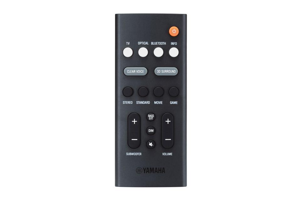 Yamaha SR-B20A soundbar, black