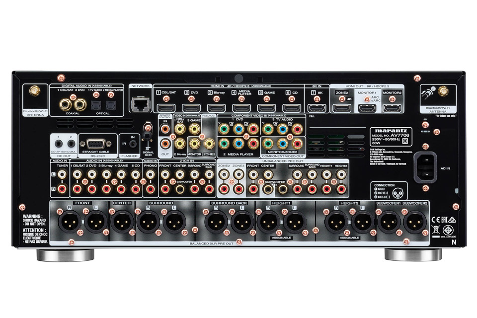 Marantz AV7706 surround proccessor