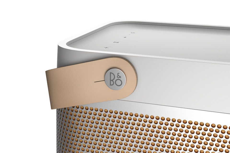 B&O Beolit 20 bluetooth speaker, grey mist