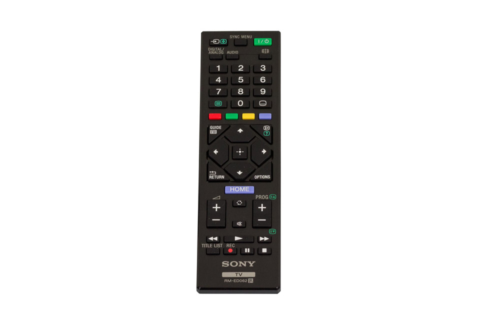Sony RM-ED062/RMT-TZ120 remote control