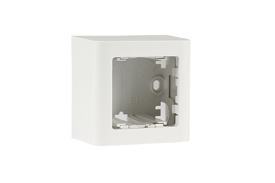 LK FUGA® Softline surface box - 1 module