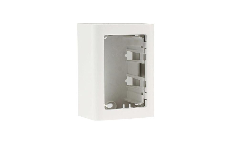 LK FUGA® Softline surface box - 1,5 module