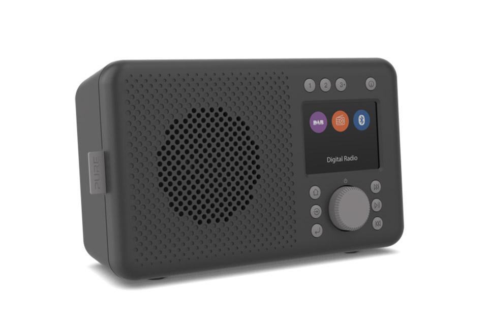 Pure Elan DAB+ radio, black