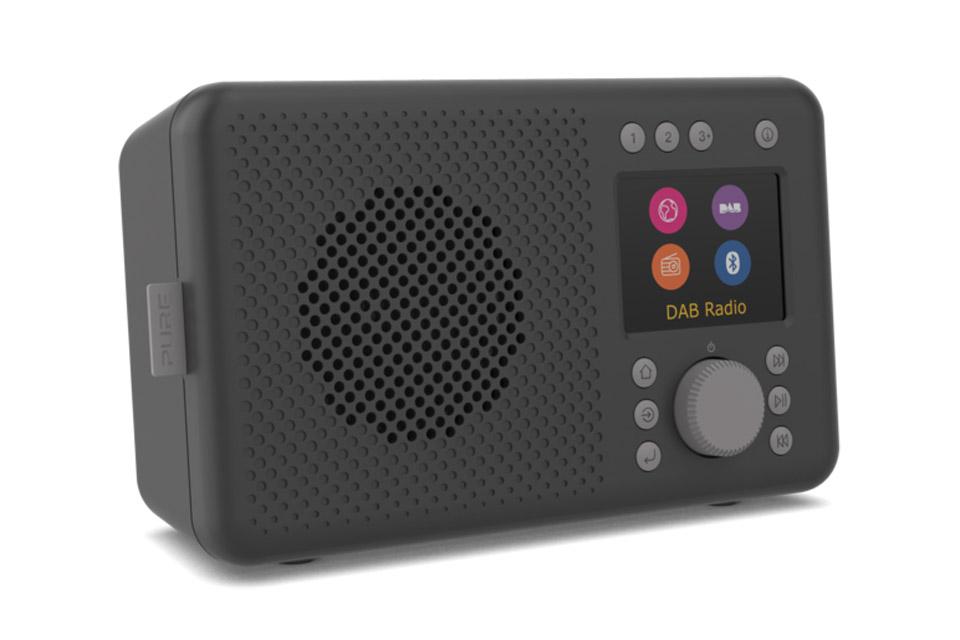 Pure Elan Connect internet radio, black