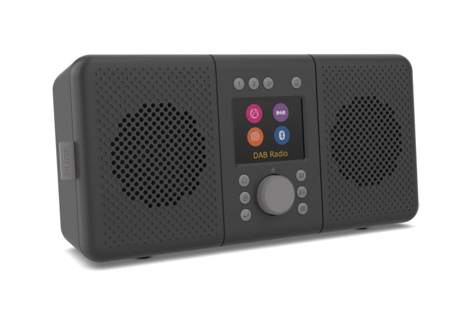 Pure Elan Connect+ internet radio, black
