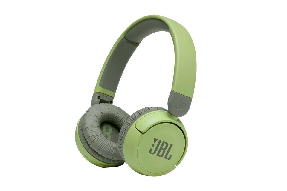 JBL JR310 headphones, green