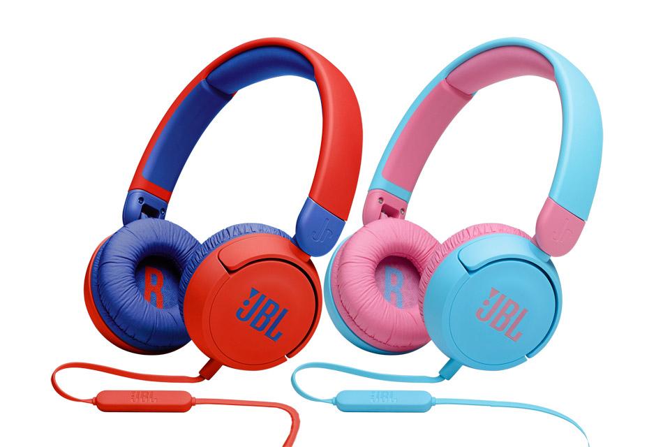 JBL JR310 headphones, all