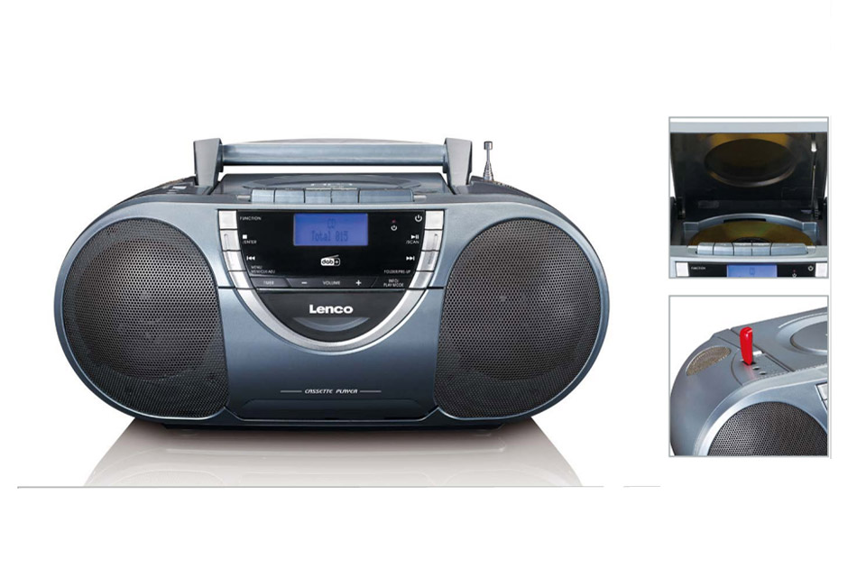 Lenco SCD-6800 portable DAB+/FM radio with CD and USB