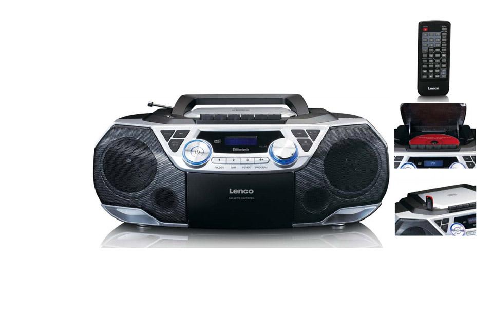 Lenco SCD-720 Ghettoblaster with Bluetooth and DAB+/FM
