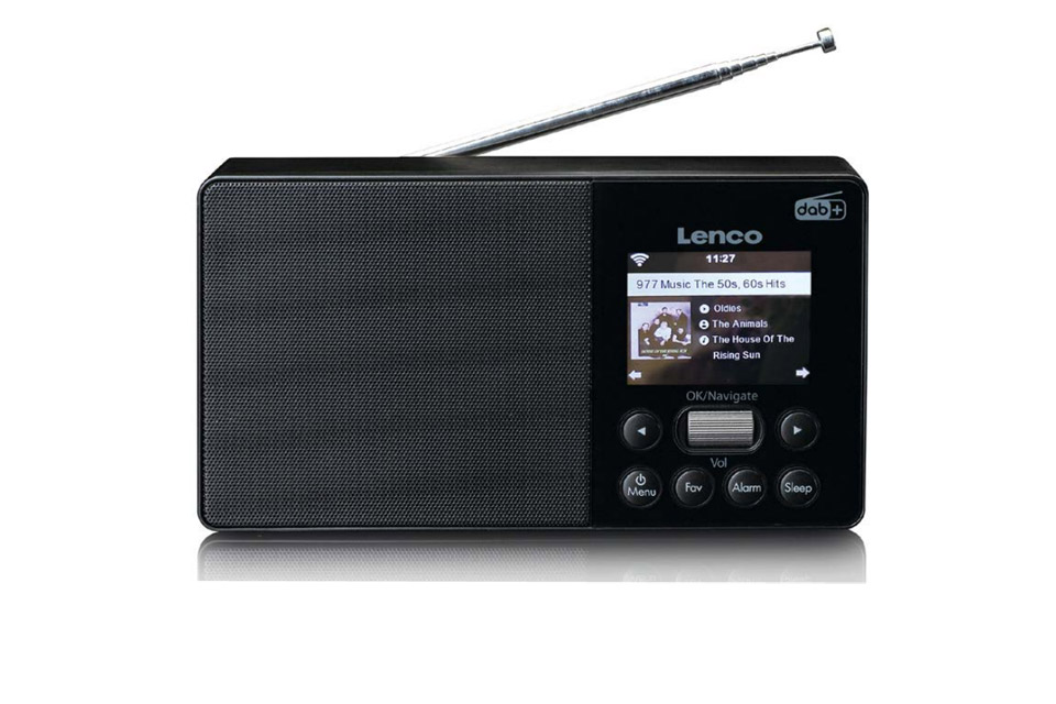 Lenco PIR-510 portable internet radio with FM/DAB+