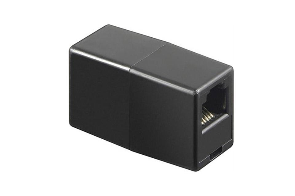 Deltaco CAT 6 network extender adaptor (RJ45 female - female)