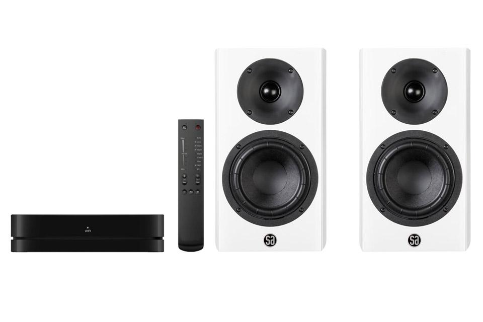 System Audio Legend 5 inkl. hub, hvid satin