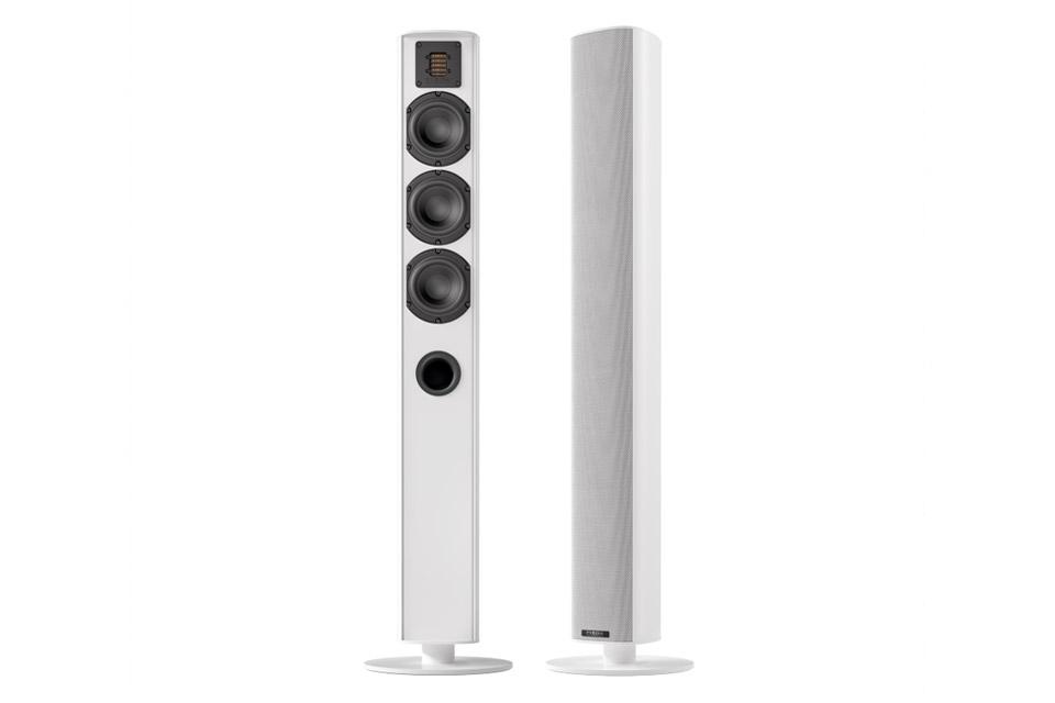Piega Ace 50 floorstanding speaker, white