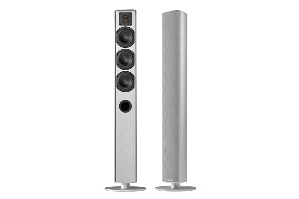 Piega Ace 50 floorstanding speaker, silver