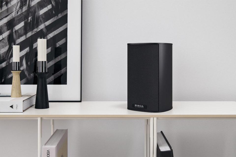 Piega Ace 30 bookshelf speaker, lifestyle