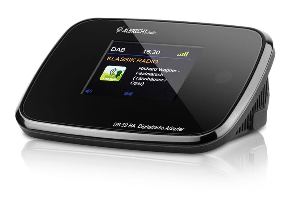 Albrecht DAB+/FM adapter with Bluetooth - Front