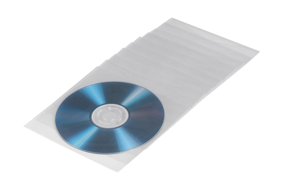 Hama space-saving CD/DVD pocket