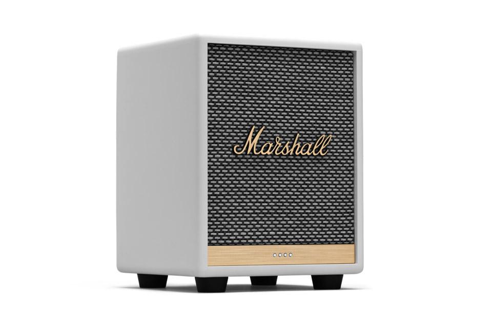 Marshall Uxbridge Google Assistant speaker, white