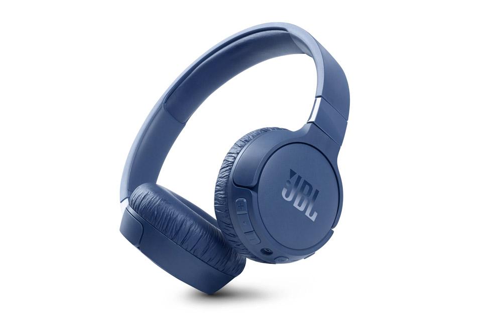 JBL Tune 660NC on-ear headphones, blue