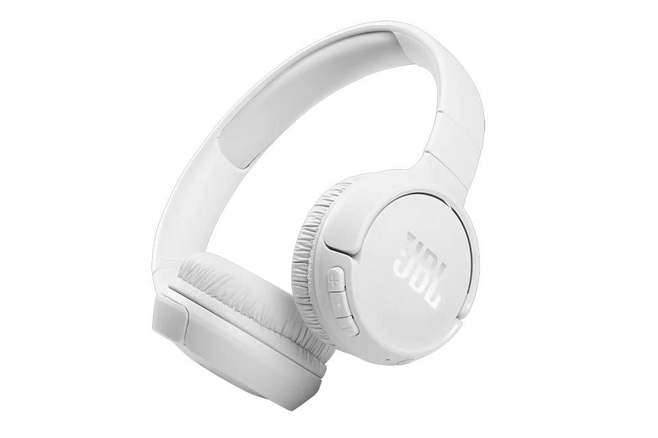 JBL Tune 510BT on-ear headphones, white