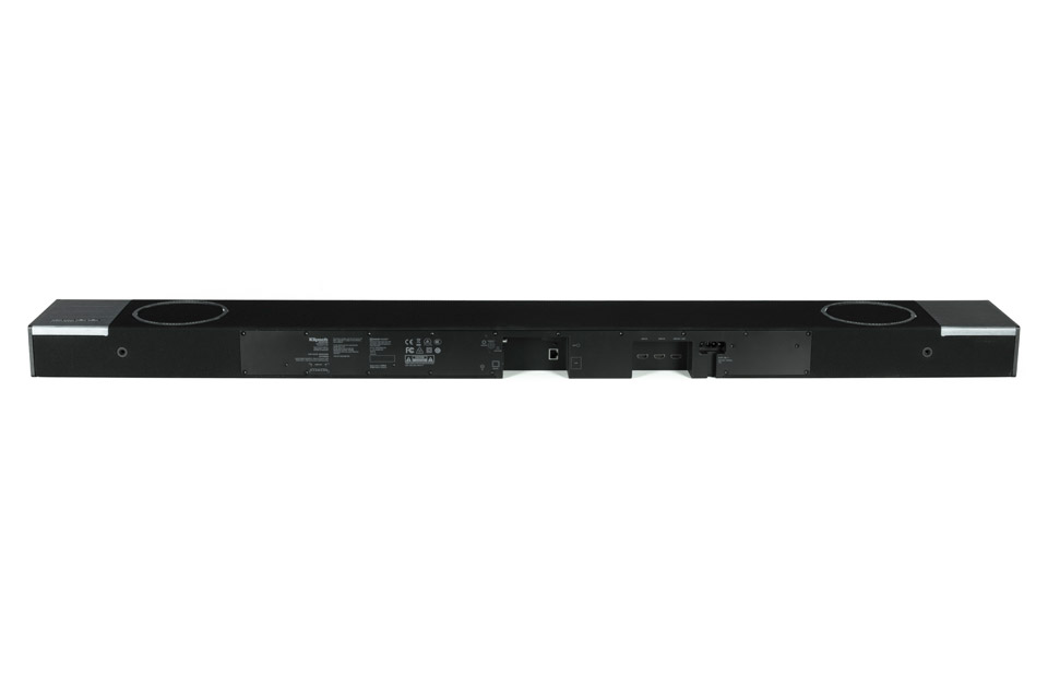 Klipsch Cinema 1200 soundbar with subwoofer - Back soundbar