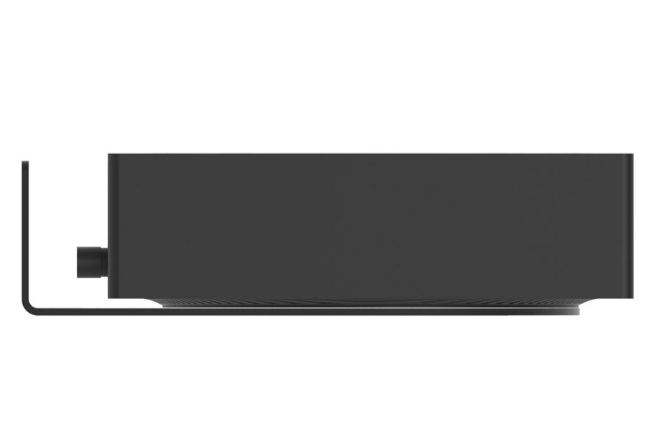 Cavus horizontal wall bracket for Sonos AMP - Side