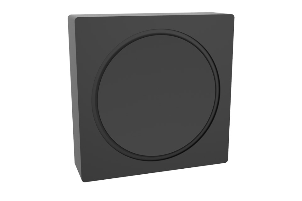 Cavus vertical wall bracket for Sonos AMP - Front