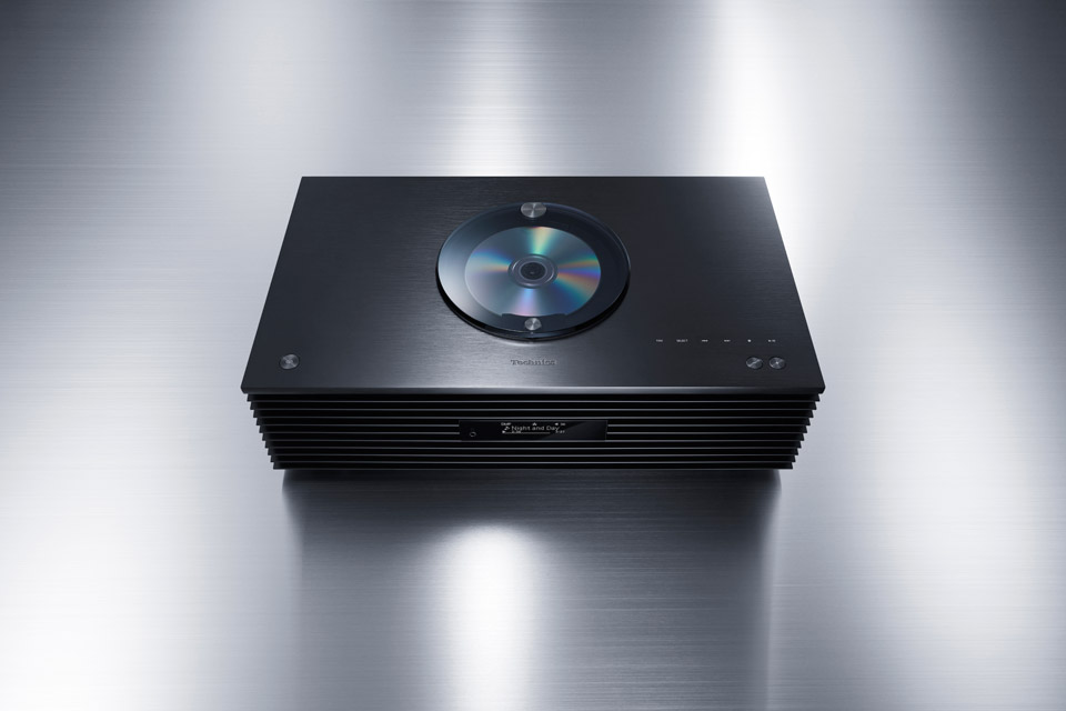 Technics SC-C70 MKII stereo system, black