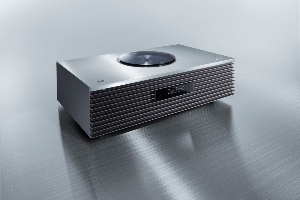 Technics SC-C70 MKII stereo system, silver