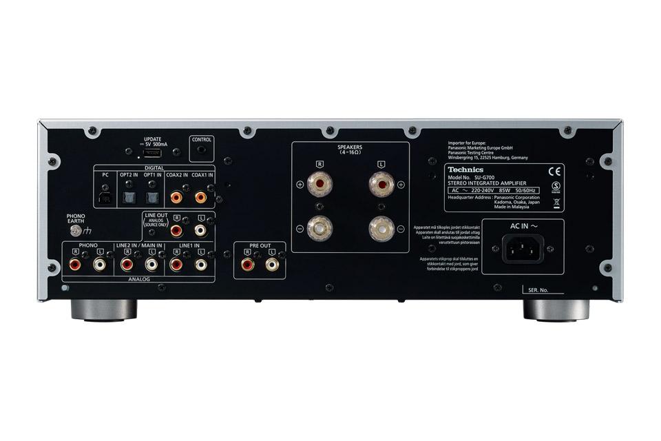 Technics SU-G700 integrated amplifier, silver