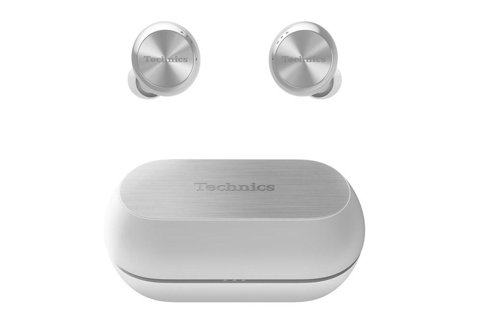 Technics EAH-AZ70W in-ear headphones, silver