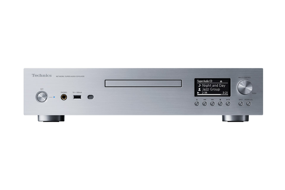 Technics SL-G700 network and CD-player, silver