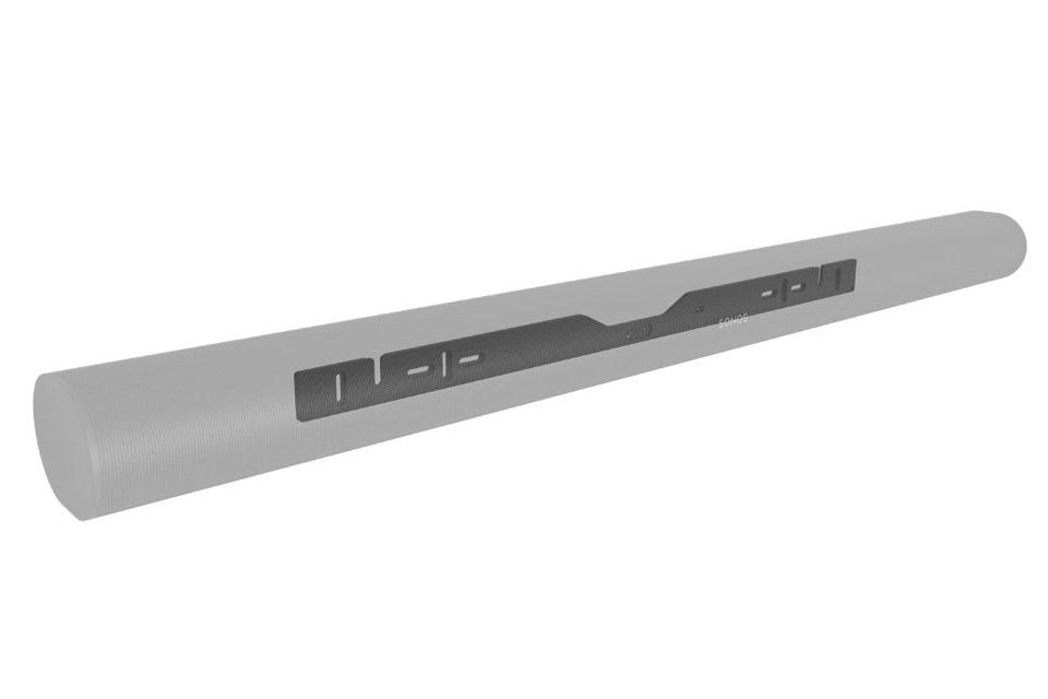 Cavus wall bracket for Sonos ARC - Black