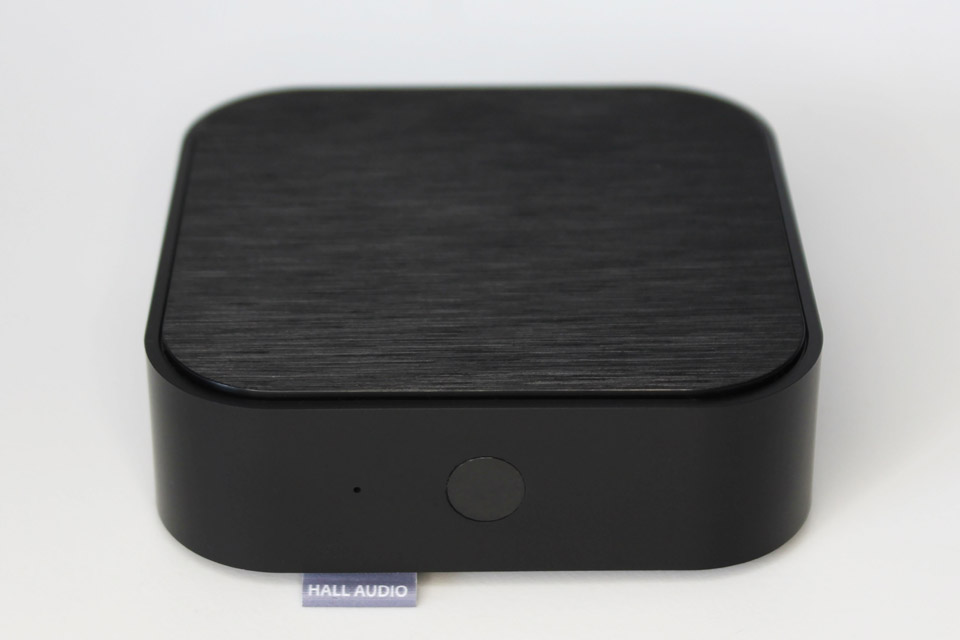 Hall Audio WiFi streamer, sort
