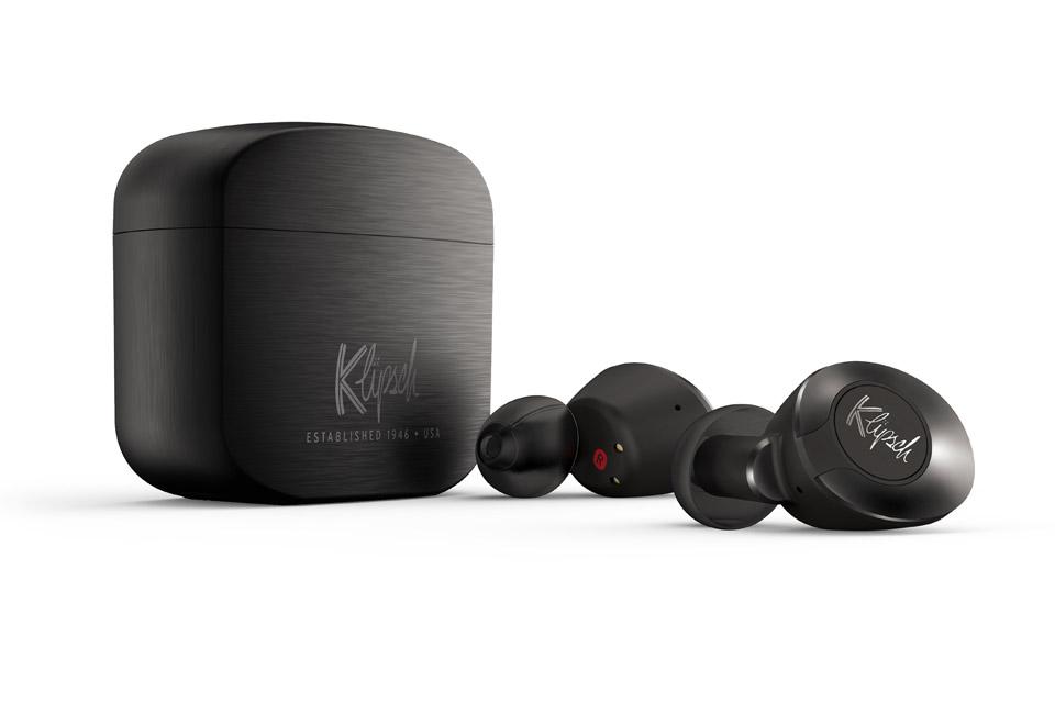 Klipsch T5 II True trådløs in-ear-hovedtelefoner, gun metal