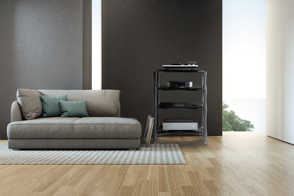 NorStone SLENDER with 4 shelves - Lifestyle