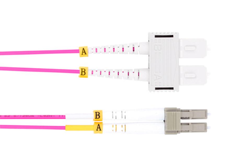 ProXtend LC to SC duplex fibre optic UPC cable (OM4)