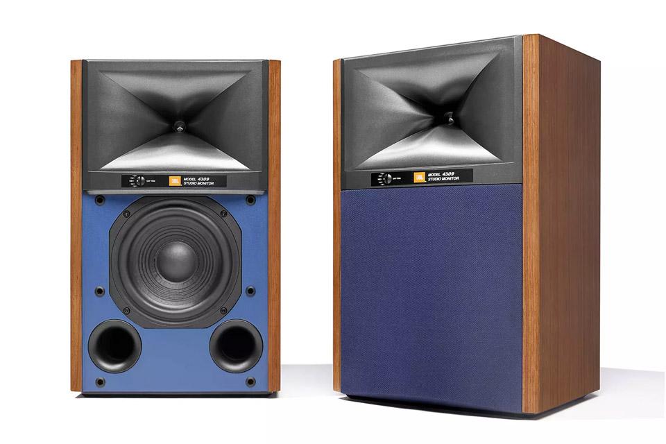 JBL Synthesis 4309 bookshelf speaker, walnut
