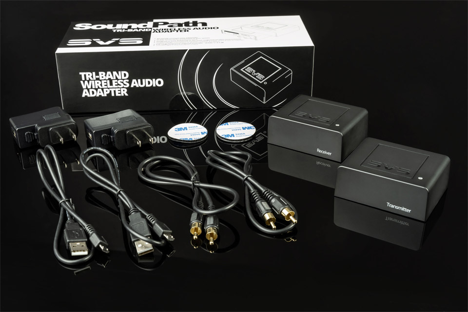 SVS SoundPath Tri-Band wireless transmitter and receiver